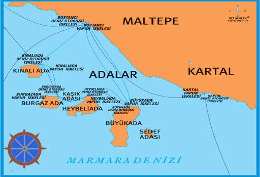 Adalar Bilgisayar Teknik Servisi Haritası